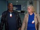 Homem procurado pela família é encontrado graças a enfermeira