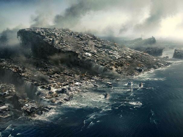 """""""2012"""" aborda a crença sobre o fim do mundo (Foto: Divulgação / Reprodução)"""