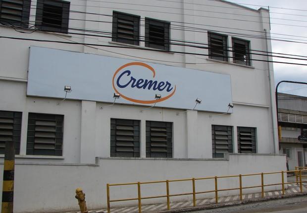 Fábrica da Cremer (Foto: Reprodução/Twitter)