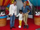Astrid Fontenelle comemora os quatro anos no filho com amigos