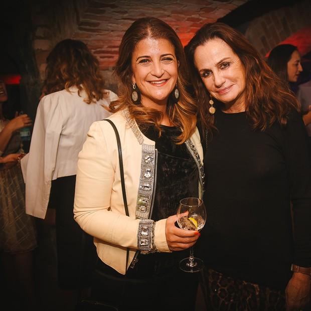Flavia Kujawski e Georgina Brandolini (Foto: André Ligeiro)
