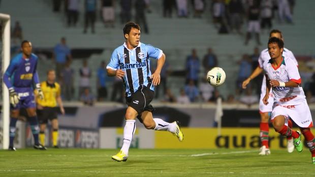 kleber gladiador grêmio portuguesa brasileirão (Foto: Lucas Uebel/Grêmio FBPA)