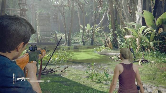 Uncharted 4 (Foto: Reprodução / YouTube)