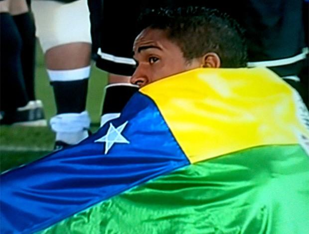 Jorge Henrique comemoração bandeira Sergipe Corinthians (Foto: Reprodução / Facebook Oficial)