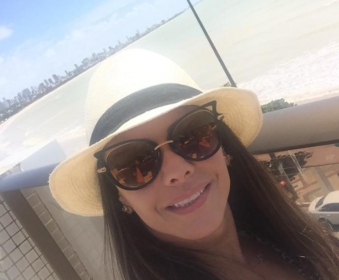 Viviane Araújo sabe que semana que vem tem mais ralação no 'Dança'! (Foto: Arquivo Pessoal)