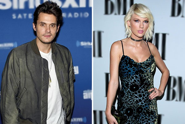 John Mayer e Taylor Swift (Foto: Getty Images)