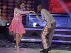 'Titanium' embala Bia Seidl e Edson Almeida no Dança dos Famosos