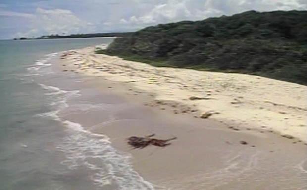 Praia em Trancoso - Bahia (Foto: Reproduo)