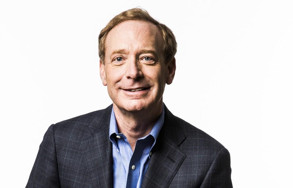 Brad Smith, presidente da Microsoft (Foto: Divulgação / Microsoft)