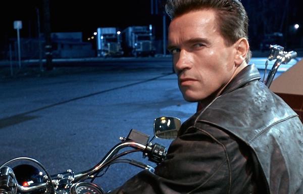 O ator Arnold Schwarzenegger como o Exterminador do Futuro (Foto: Reprodução)