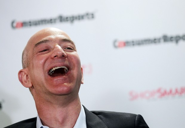 Jeff Bezos, CEO da Amazon (Foto: Mario Tama/Getty Images)