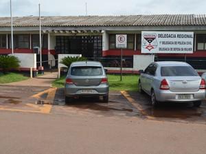 Delegacia Cacoal (Foto: Rogério Aderbal/G1)