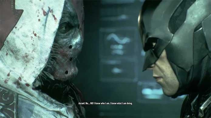 Azrael tenta suceder Batman (Foto: Reprodução/Felipe Vinha)