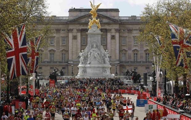 Maratona de Londres atletismo (Foto: Reuters)