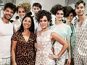 Desfile no Fashion Rio da Apoena: moda inspirada nos 50 anos da Turma da Mõnica (Foto: Pedro Lins/Finíssimo)