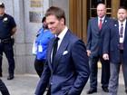 Após boatos de separação, Tom Brady vai de aliança a audiência nos EUA