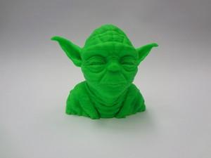 Yoda, personagem do filme Star Wars, pode ser feito através da impressão 3D (Foto: Divulgação)
