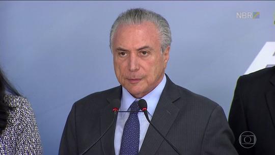 Presidente decreta luto oficial no Brasil por três dias
