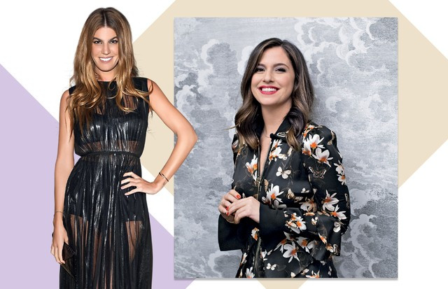 Bianca Brandolini e Paula Cademartori (Foto: Daniel Mattar/ Arquivo Vogue e Divulgação)