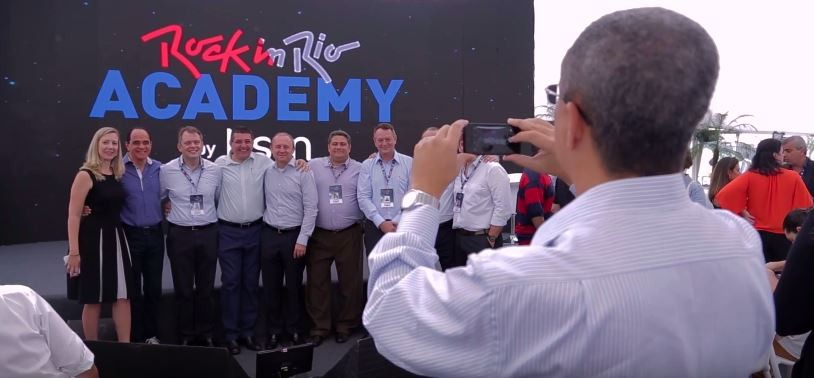 Rock in Rio Academy 2015 (Foto: Reprodução)