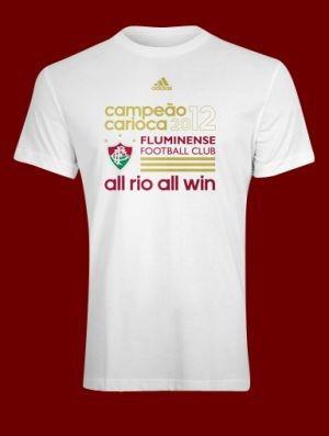Camiseta Fluminense campeão carioca 2012 (Foto  Divulgação) f899025b7a260
