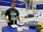 Vittorio Baricelli, filho do ator Luigi Baricelli, malha seis vezes na semana e tem alimentação regrada