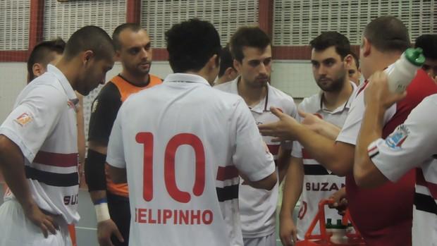 São Paulo/Suzano Liga Paulista (Foto: Petterson Rodrigues)