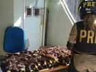 Polícia Rodoviária Federal apreende cerca de 10 kg de cabelo na fronteira