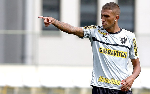 Rafael Marques Botafogo treino (Foto: Satiro Sodré / Agif)