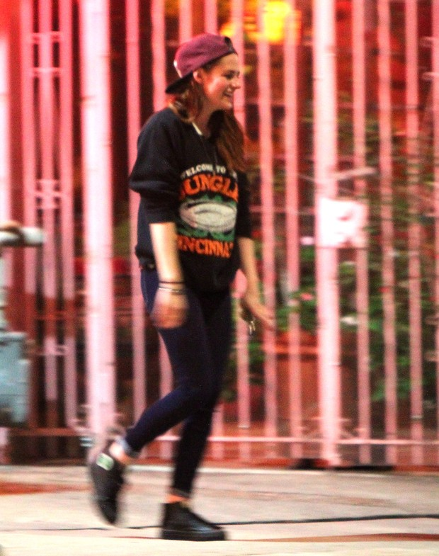 Kirsten Stewart em Los Angeles (Foto: Instagram / Reprodução)