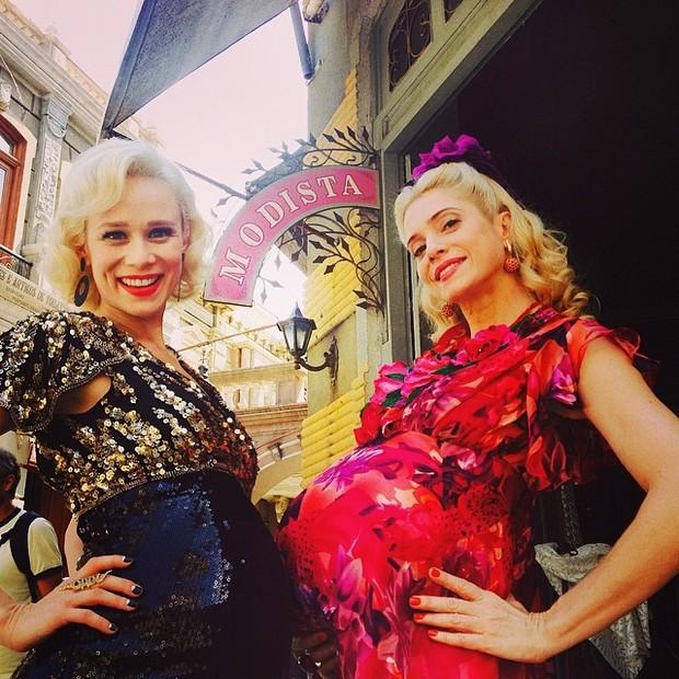 Mariana Ximenes e Letícia Spiller (Foto: Reprodução/Instagram)