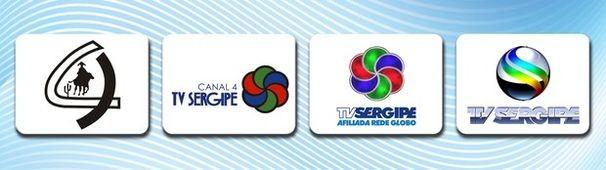 Marcas da TV Sergipe ao longo da história (Foto: Divulgação / TV Sergipe)