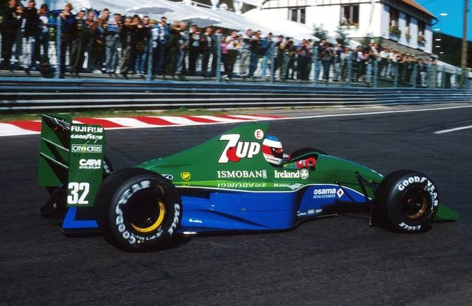 Michael Schumacher em 1991 (Foto: Divulgação)