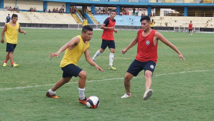 Atletas farão ainda dois amistosos nos próximos dias (Foto: Dominique Cavaleiro/GloboEsporte.com)