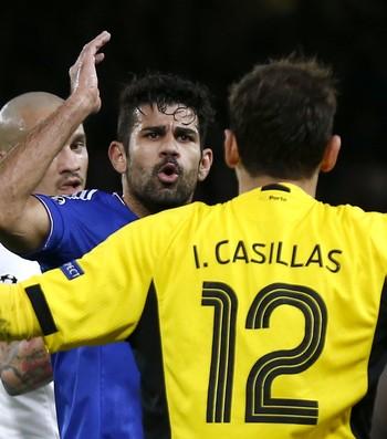 Diego Costa Chelsea Casillas Porto (Foto: Reuters)