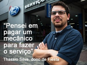 Thassio Silva demorou 5 meses para conseguir fazer recall do Ford Fiesta (Foto: Victor Moriyama/G1)
