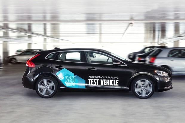 Sistema de estacionamento autônomo é demonstrado em protótipo da Volvo (Foto: Volvo)