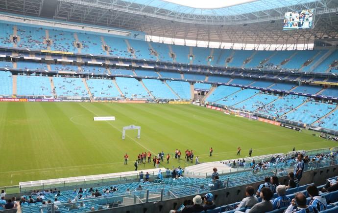 Arena do Grêmio - TR - Ponte Preta (Foto: Eduardo Moura/GloboEsporte.com)