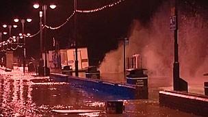 Região leste da Grã-Bretanha e Escócia foram as mais atingidas pela tempestade (Foto: BBC)