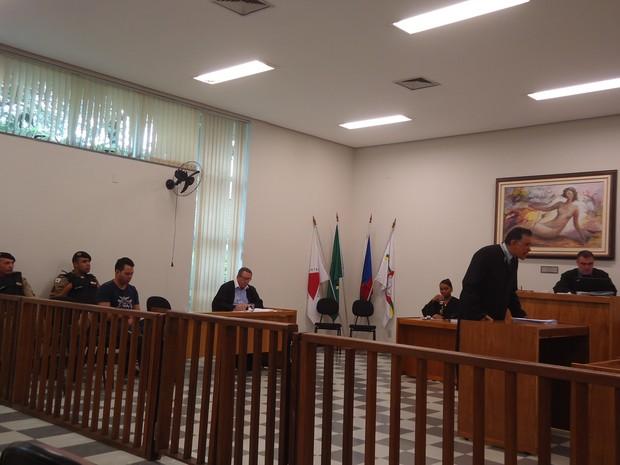 Réu foi condenado a seis anos em regime semi-aberto (Foto: Patrícia Belo / G1)