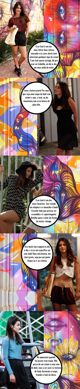 Modelitos de Jade (Foto: Malhação / TV Globo)