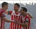 Southampton se recupera após quatro derrotas seguidas e vence o Leicester