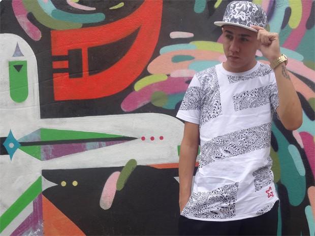 MC Novinho busca sucesso no funk paulista com ajuda do pai e do amigo MC Gui (Foto: Divulgação)