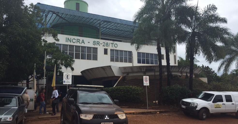 Operação investiga desvios de recursos no Incra (Foto: Érica Picelli/TV Anhanguera)