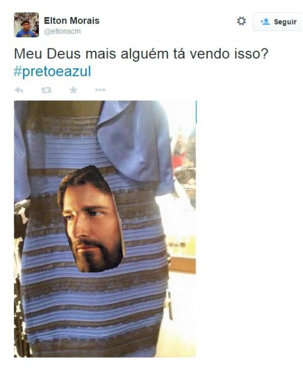 Meme vestido 2 (Foto: Reprodução/Twitter)