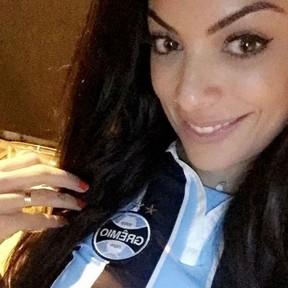 Ex-BBB Monique Amin comemora título do Grêmio na Copa do Brasil (Foto: Instagram/ Reprodução)
