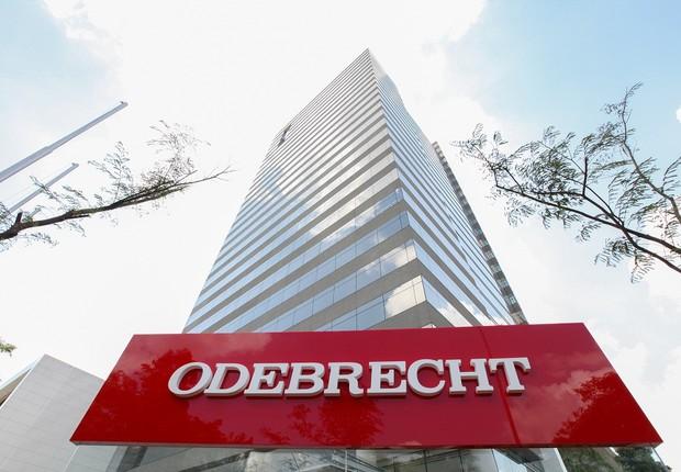 Escritório da Odebrecht em São Paulo (Foto: Zeh Campos)