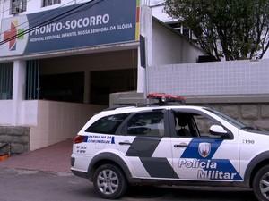A criança foi levada para o Hospital Infantil de Vitória (Foto: Reprodução/ TV Gazeta)