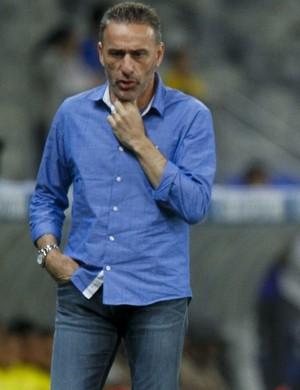 Paulo Bento Bryan Roger Guedes; Cruzeiro x Palmeiras (Foto: Washington Alves/Light Press)