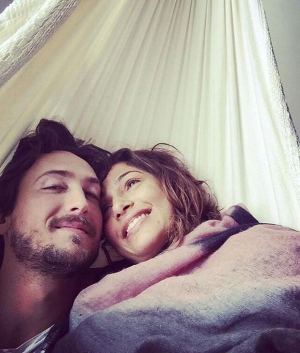 Camila Pitanga e Irgor Angelkorte (Foto: Reprodução Instagram)